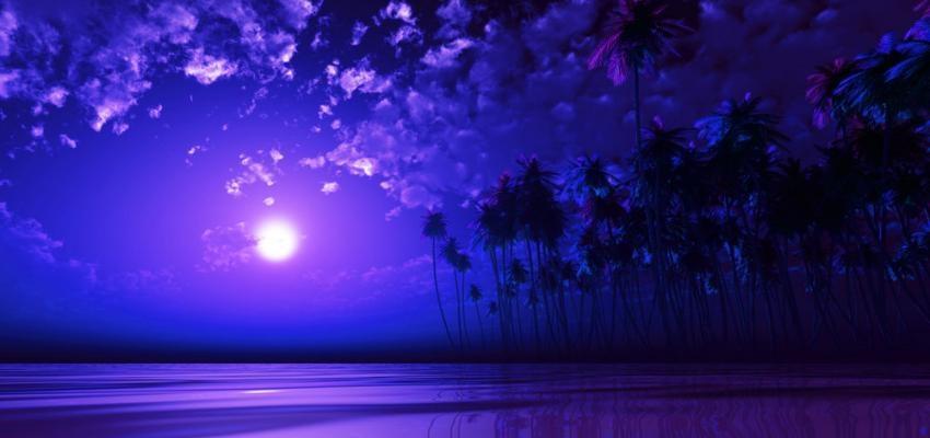 ¿Cuál es el significado de la Luna Púrpura?