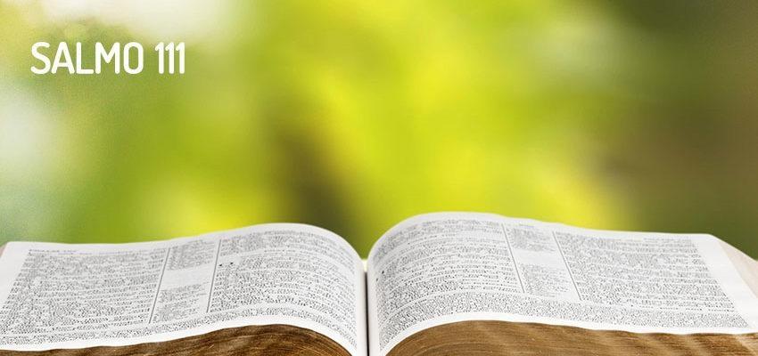 Salmo 111, Dios es nuestro creador