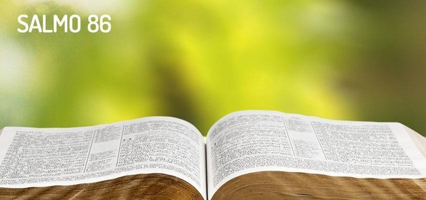 Salmo 86, la solución en manos de Dios