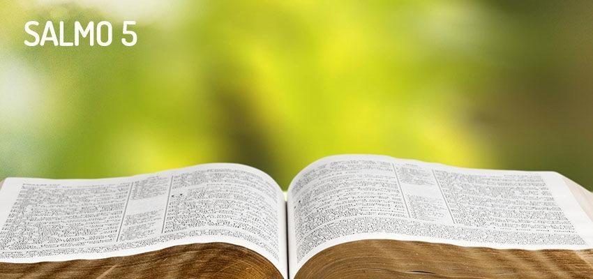 Salmo 5, invocación para empezar el día
