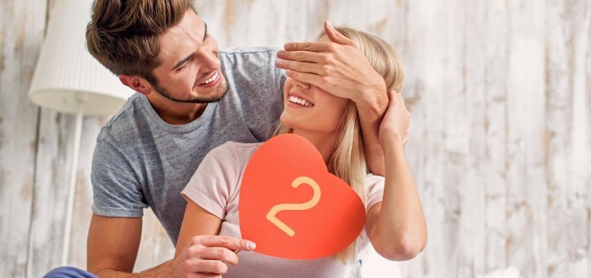 Numerología del amor: número 2