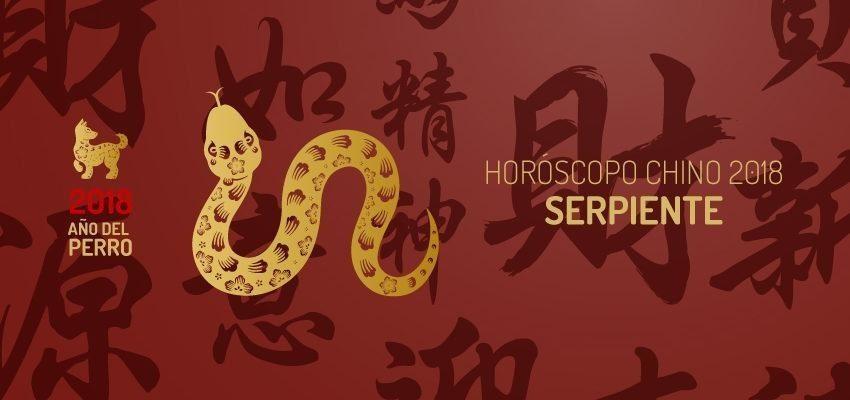 Horóscopo Chino 2018 para Serpiente, predicciones completas
