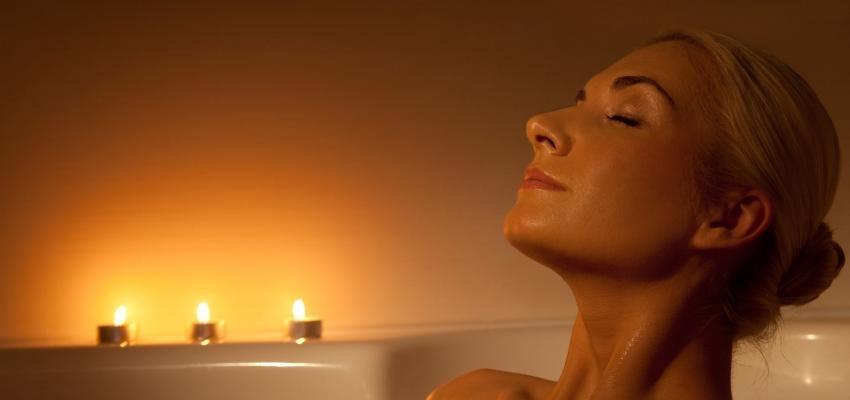 Baño para dormir relajante y evitar el insomnio