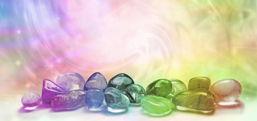 Mandalas con cristales, un portal para las energías positivas