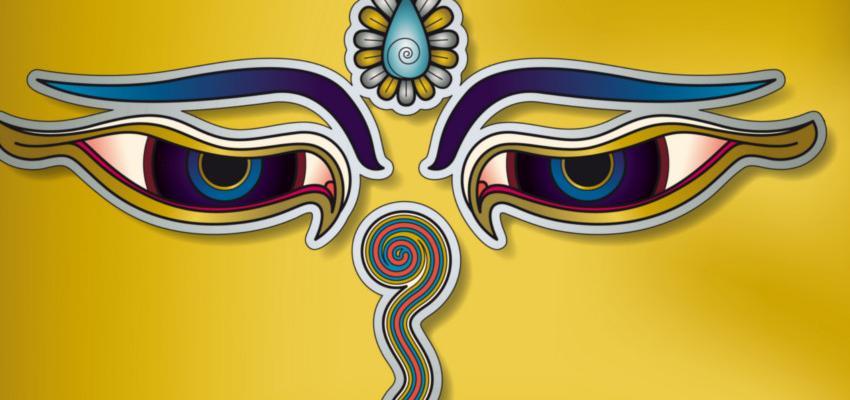Ojos de Buda, potenciar el conocimiento, la sabiduría y la compasión
