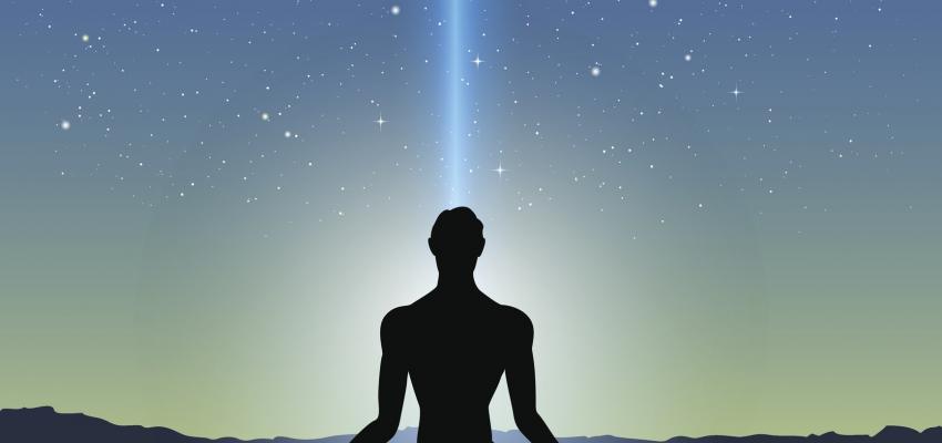 Símbolo Antahkarana para el chakra de la garganta