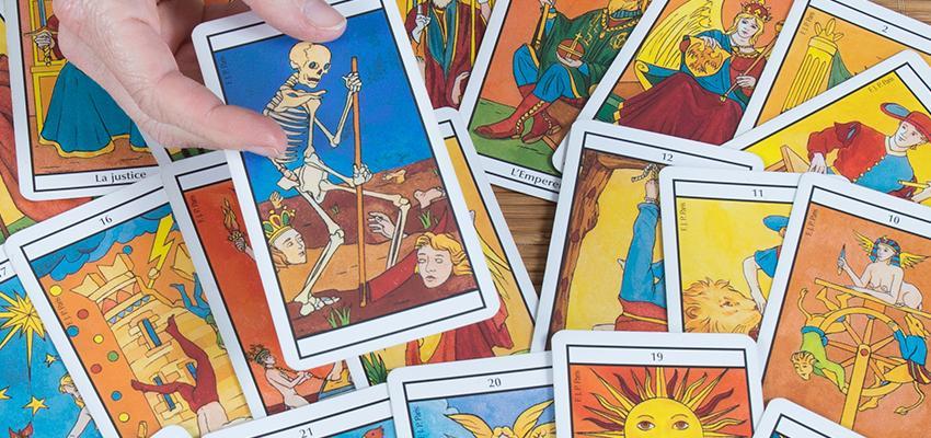 Arcanos del tarot, significados en la predicción
