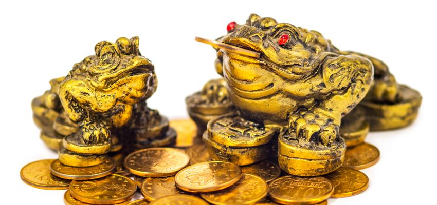 Atraer la prosperidad con la rana de la suerte