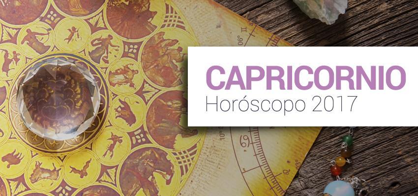 Horóscopo Anual 2017 - Capricornio
