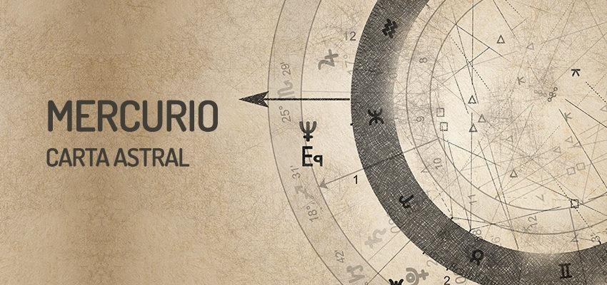 El planeta de la inteligencia, Mercurio en la carta astral