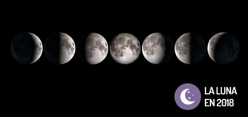 Aprende m s sobre las fases de la luna en 2018 wemystic for En que luna estamos