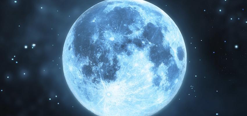 Luna azul: orígenes, significado y rituales de esto fenómeno