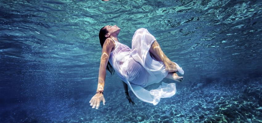 Ángeles de agua: la paz que brota del interior