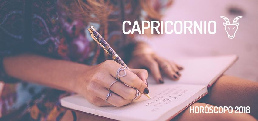 Horóscopo Anual 2018 para Capricornio