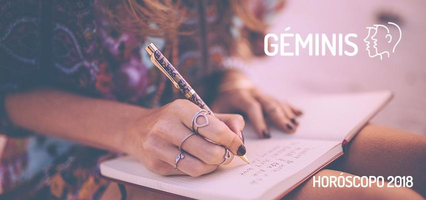 Horóscopo Anual 2018 para Géminis