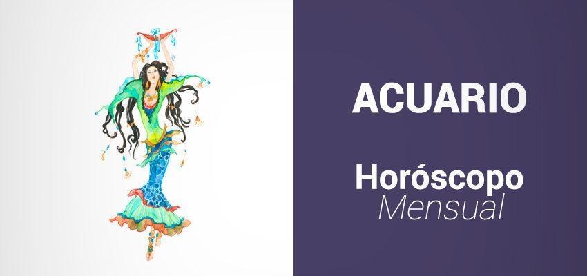 Horóscopo Mensual Noviembre 2017 para Acuario