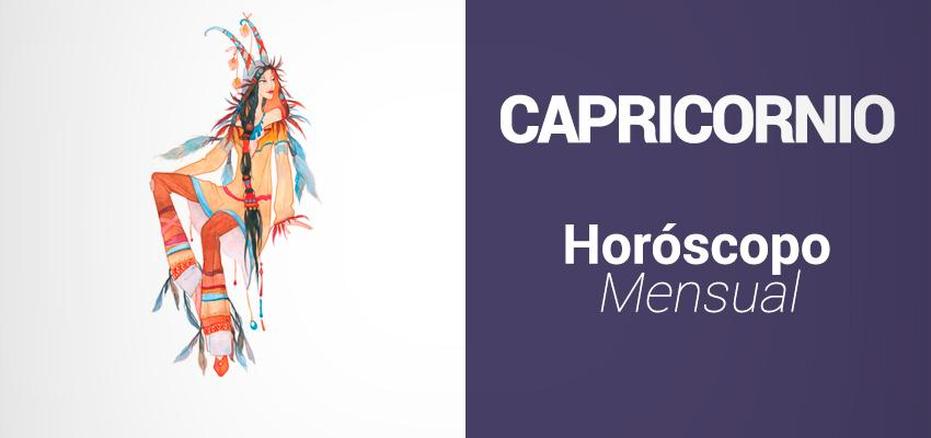 Horóscopo Mensual - Capricornio