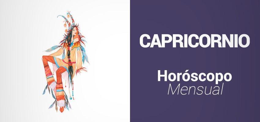 Horóscopo Mensual Diciembre 2017 para Capricornio