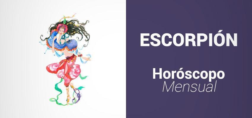 Horóscopo Mensual Noviembre 2017 para Escorpión