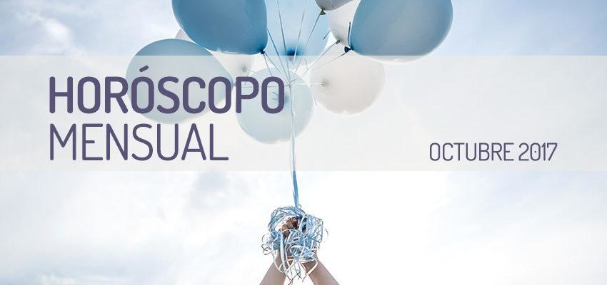 Horóscopo Mensual Octubre 2017