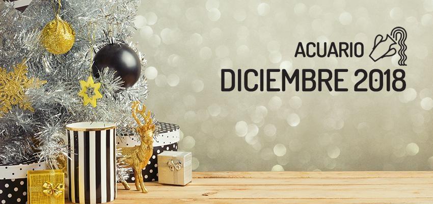 Horóscopo de Acuario para Diciembre 2018