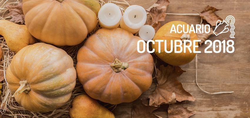 Horóscopo de Acuario para Octubre 2018