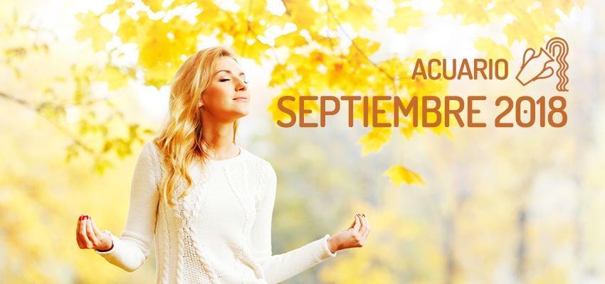Horóscopo de Acuario para Septiembre 2018