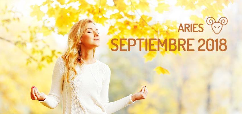 Horóscopo de Aries para Septiembre 2018