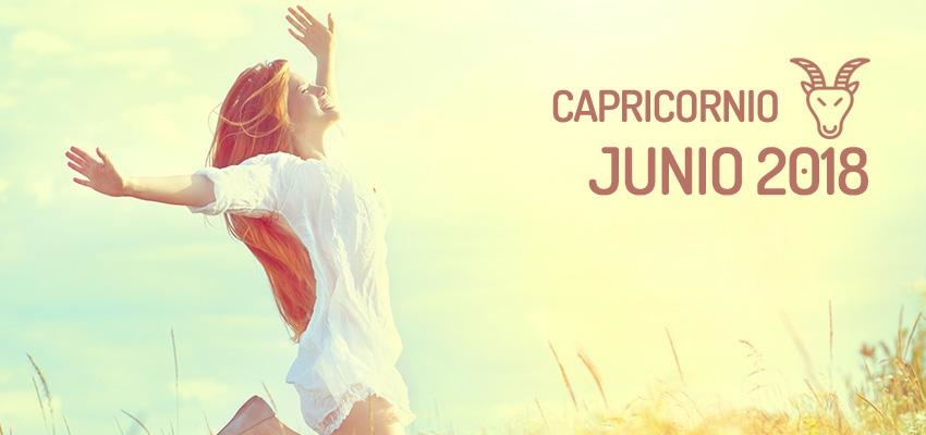 Horóscopo de Capricornio para Junio 2018