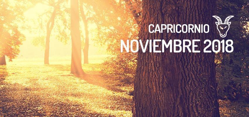 Horóscopo de Capricornio para Noviembre 2018