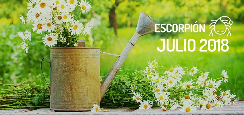 Horóscopo de Escorpión para Julio 2018