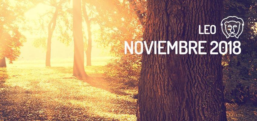 Horóscopo de Leo para Noviembre 2018