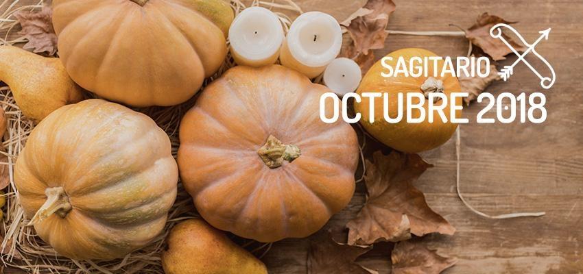 Horóscopo de Sagitario para Octubre 2018