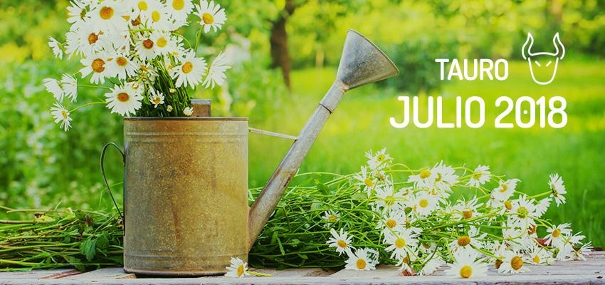 Horóscopo de Tauro para Julio 2018