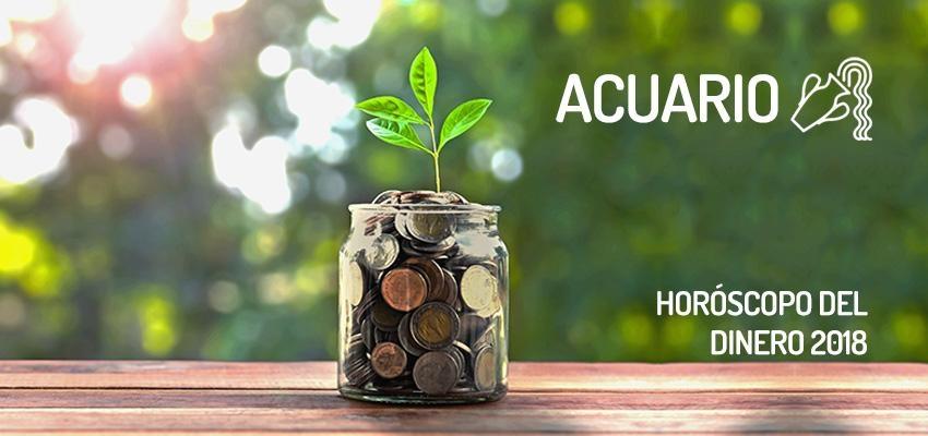 Horóscopo del dinero 2018 para Acuario, ¡Conócelo!