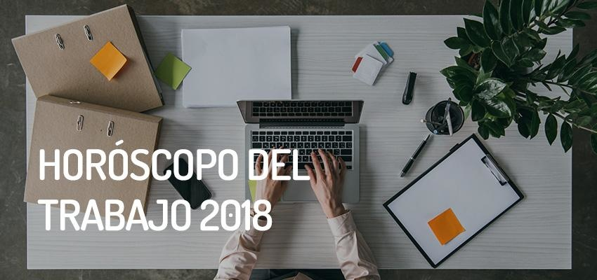 Horóscopo del trabajo, previsiones para 2018