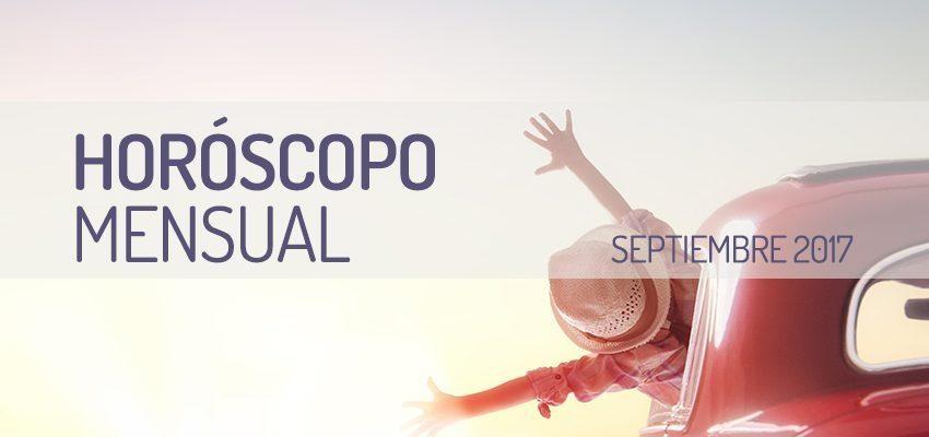Horóscopo Mensual Septiembre 2017