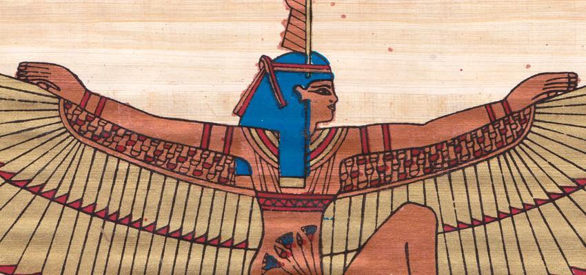La Diosa Maat llena de justicia y equilibrio el mundo