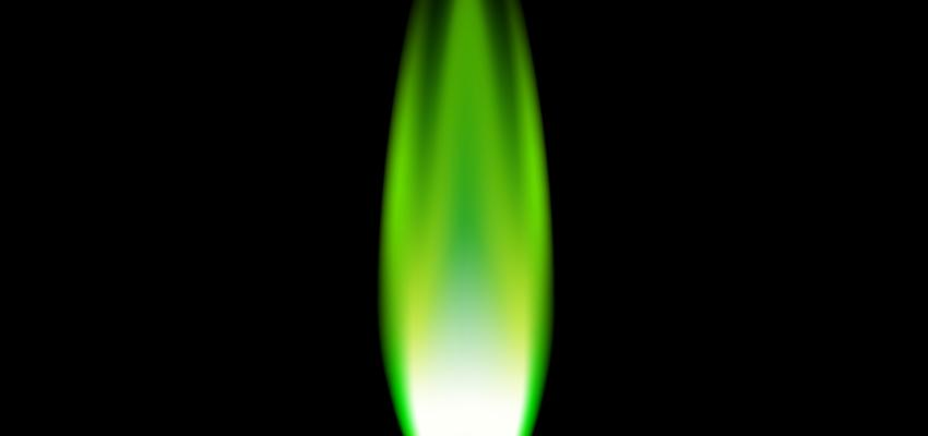 Llama verde. El poder de la sanación divina