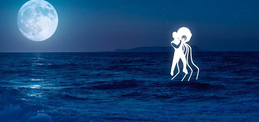 Luna en Acuario, carta natal y aspectos astrológicos