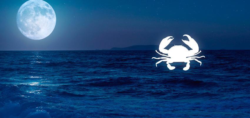 Luna en cáncer, carta natal y aspectos astrologicos