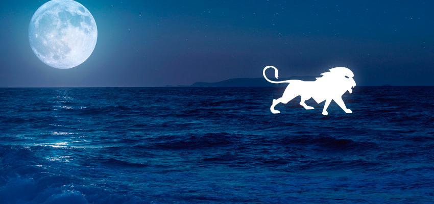 La Luna en Leo