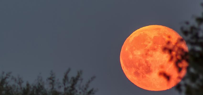 Luna roja, el significado y las profecías antiguas