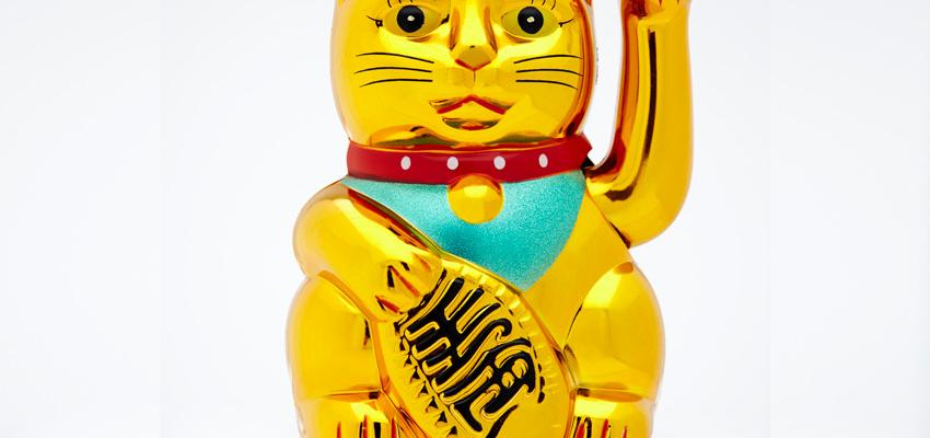 Maneki neko, el poderoso gato de la Buena Suerte