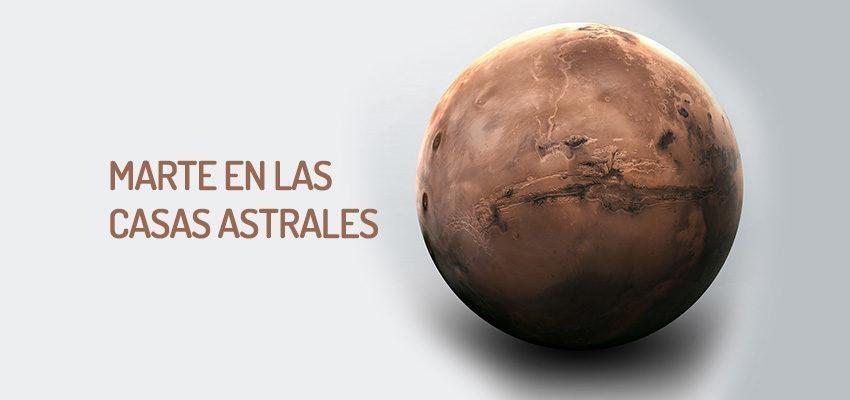 Marte en las casas astrales, conozca el poder del astro rojo