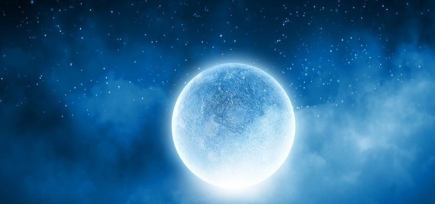 Mes lunar: la luna y el paso del tiempo