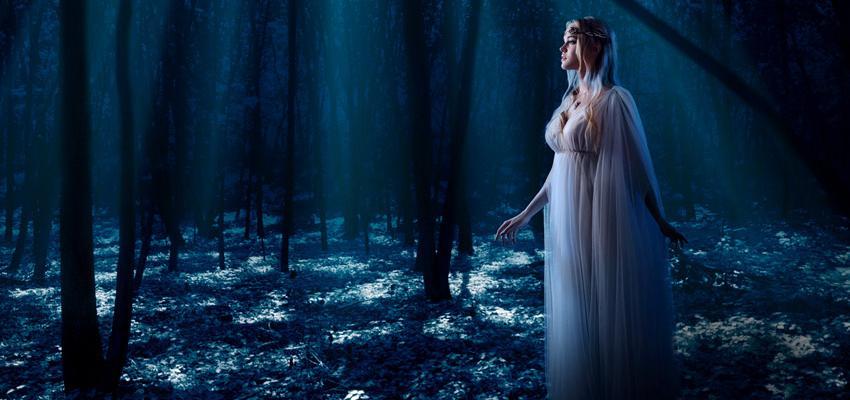 Ninfas de los Bosques, deidades que custodian la naturaleza