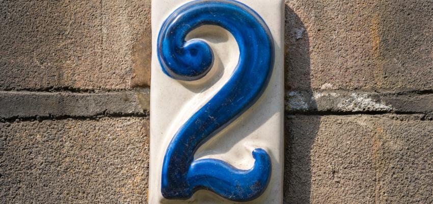 Numerología: el número dos