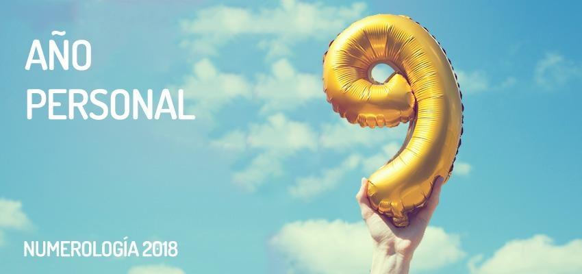 Numerología 2018: año personal 9