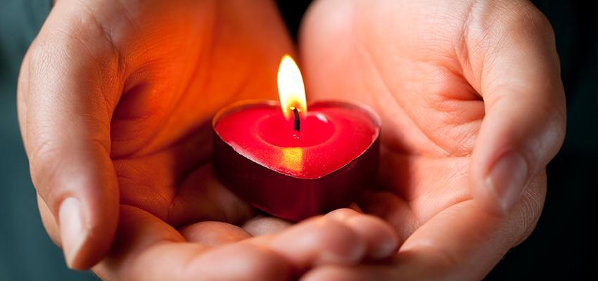 Pedir con fe en la oración para el amor